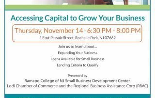 Accessing Capital to Grow Your Business