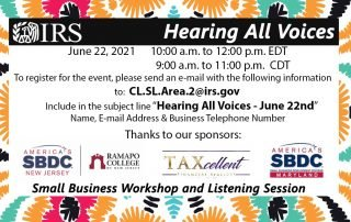 Hearing All Voices Event