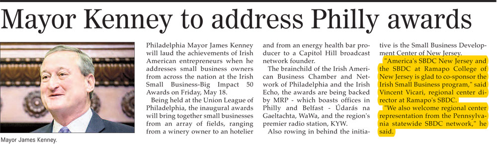 Mayor Kenney to address Philly awards