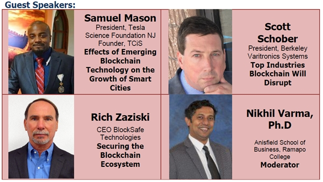 2018 Blockchain event speakers