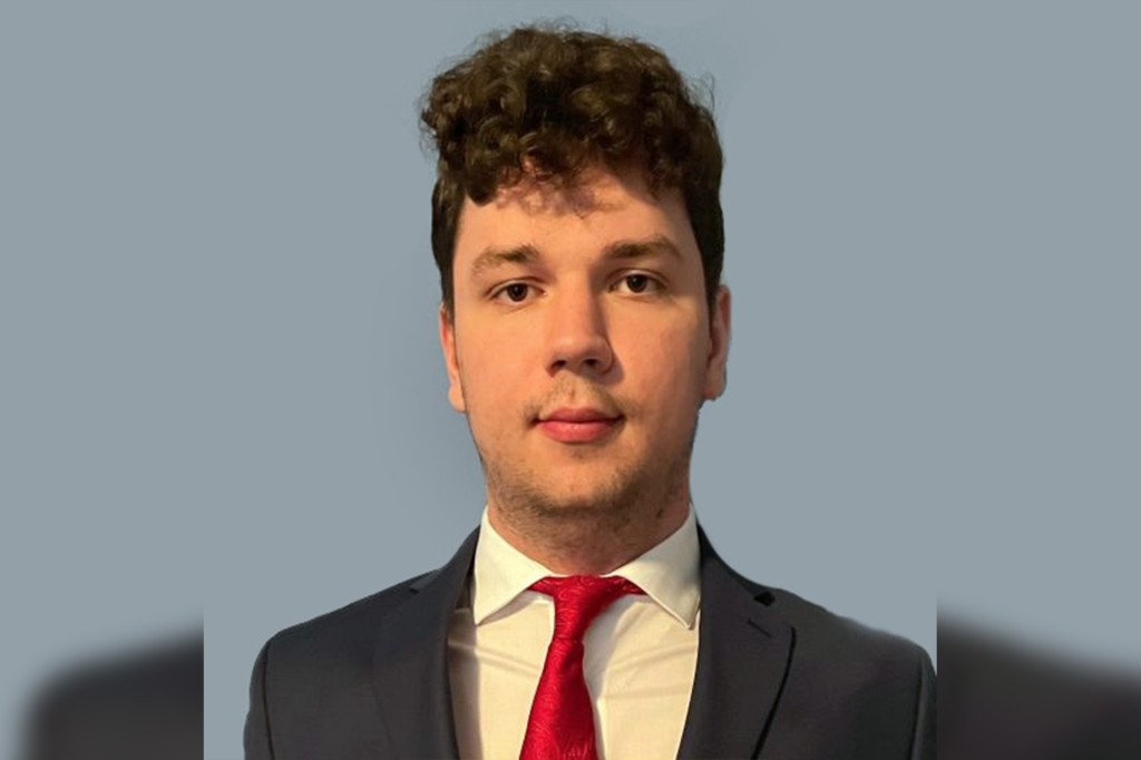 Jakub Zak, a finance major at Ramapo College of New Jersey
