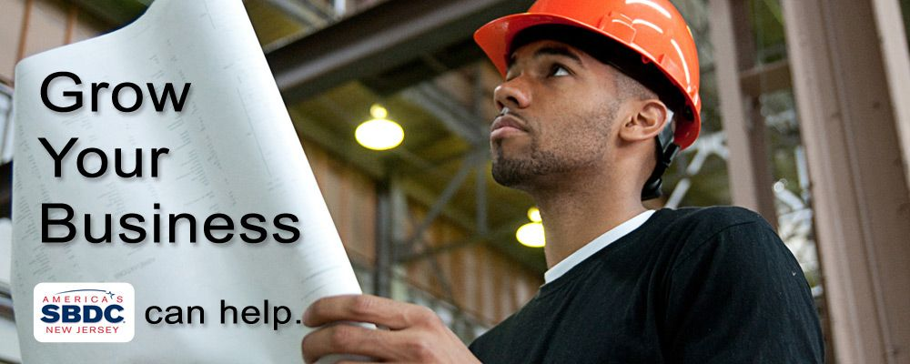 Grow Your Business. America's Small Business Development Center New Jersey can help.